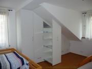 skříň do podkroví bílá 2