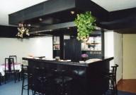 interiér baru v pensionu Monika rok 1991